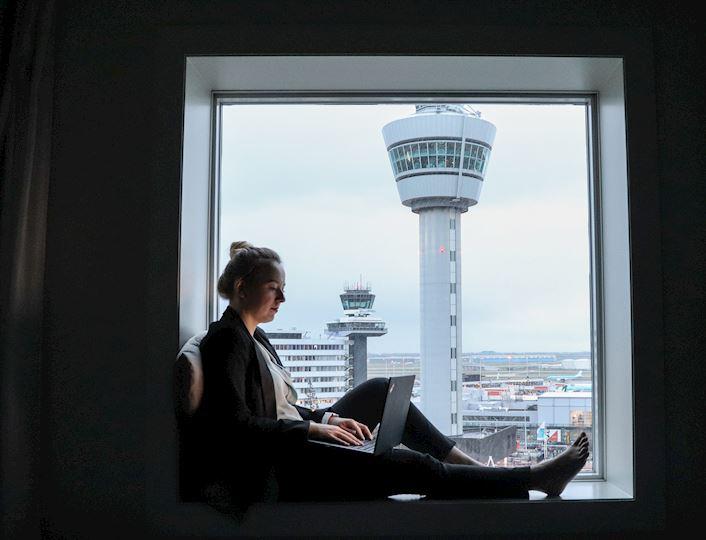 Vergaderruimte opzet in Schiphol Amsterdam Airport